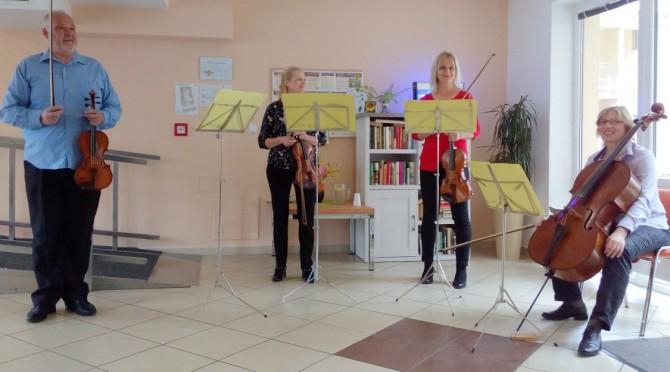 Salónní kvarteto Brno květen 2018