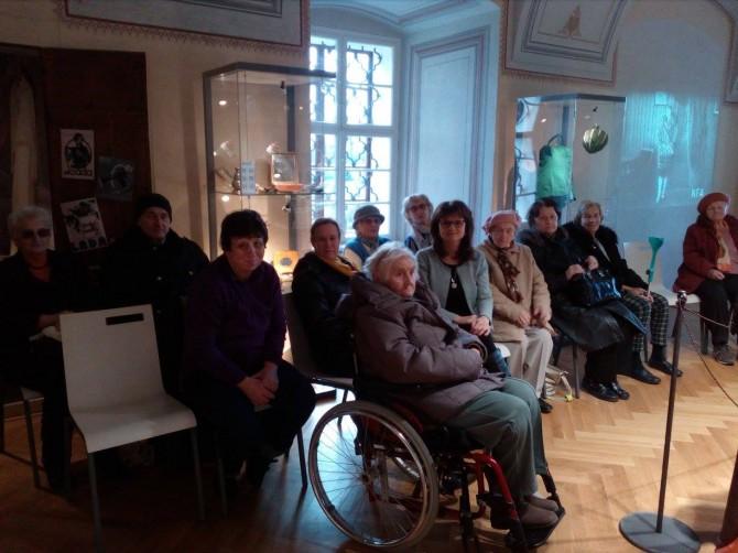 Výstava v Památníku písemnictví na Moravě_141217