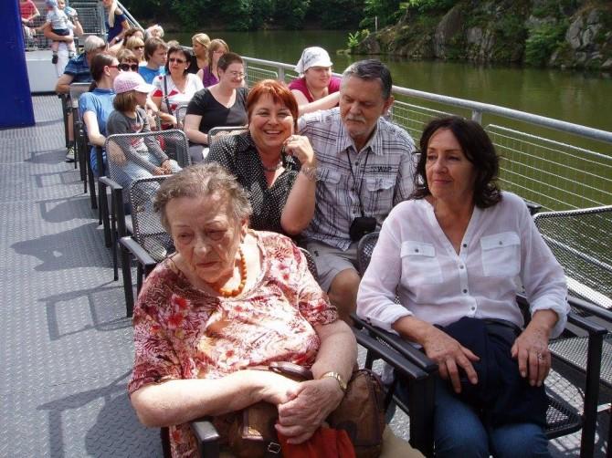 výlet na přehradu 1 červenec 2016